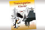 Flyer Trainingsplan Klavier
